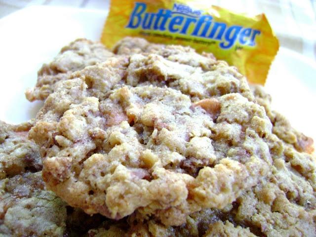 Crispy Butterfinger Cookies | Foooooood and Drinks | Pinterest