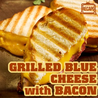The Chew: Bacon, Blue Cheese & Pear Grilled Cheese Sandwich Recipe