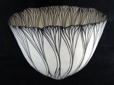 ★Vessel Black and White Petal Sequence | Cheryl Malone