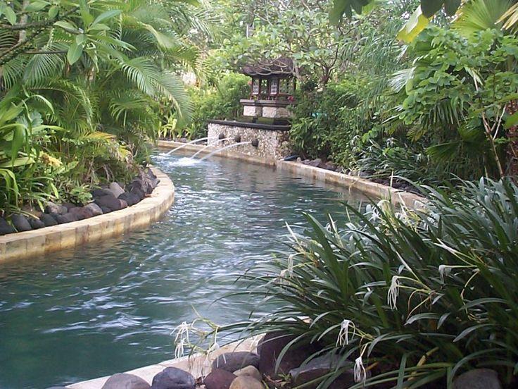 Backyard Lazy River Creative Glamorous Design Inspiration