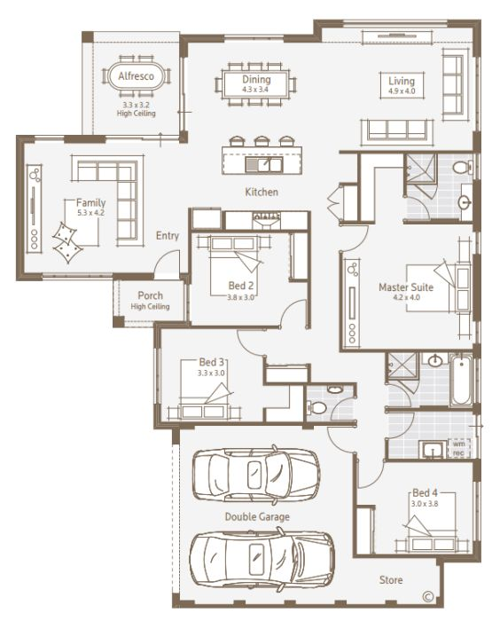 pin by ning mega on house floor plan pinterest