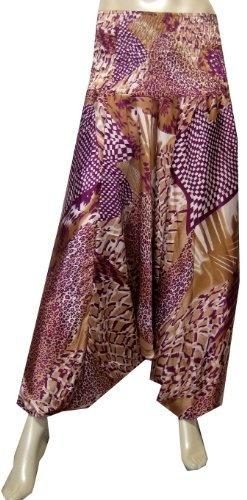 Price: $22.78 Silk Harem Alladin Pants Womens Indian Clothing