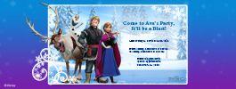 Disney Frozen on Evite