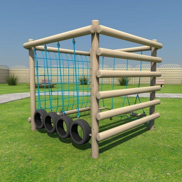 Playground equipment playground pinterest for Diy backyard playground