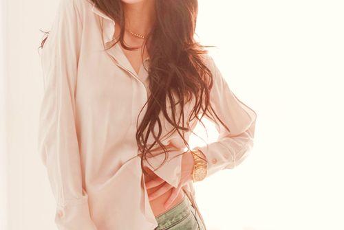 Neutral blouses.