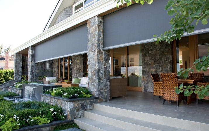 Retractable screens deck porch patio pinterest for Retractable screen porch