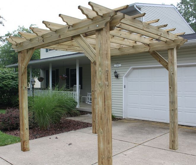 Pergola season helpful tips to building your own for Build your own pergola