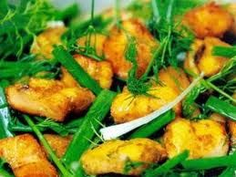 Cha ca recipe – Vietnamese Grilled Fish with Turmeric and Dill