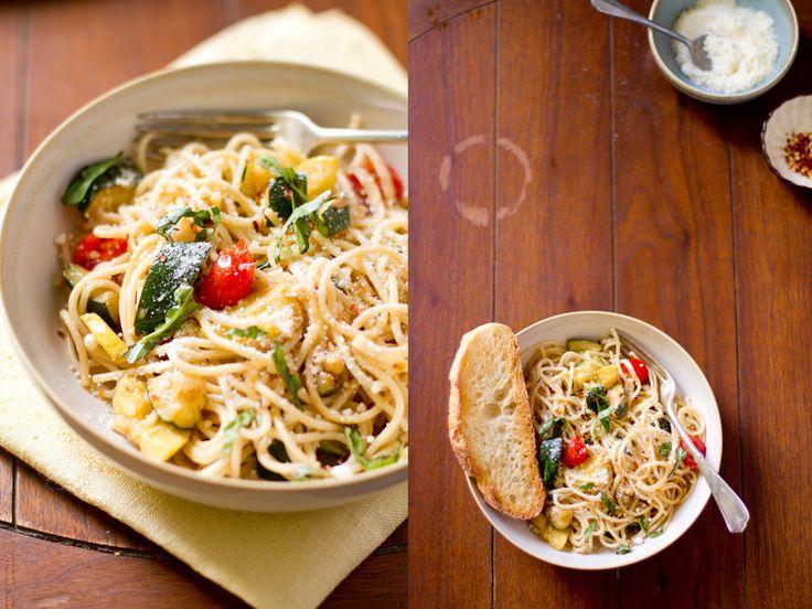Simple Summer Spaghetti   Yummy in my Tummy   Pinterest