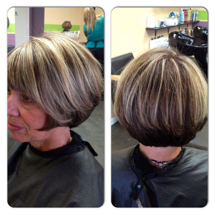 Chocolate Brown Foils On Blonde Hair | Dark Brown Hairs