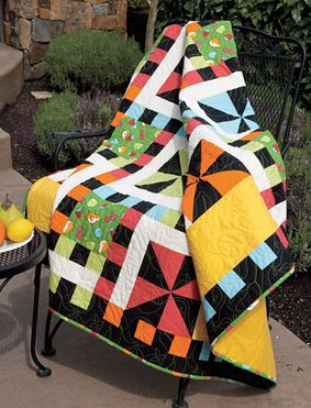 Whirlwind Lap Quilt Pattern Download