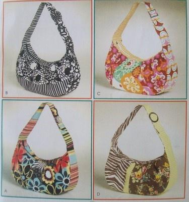 Pin Free Hobo Purse Sewing Pattern on Pinterest
