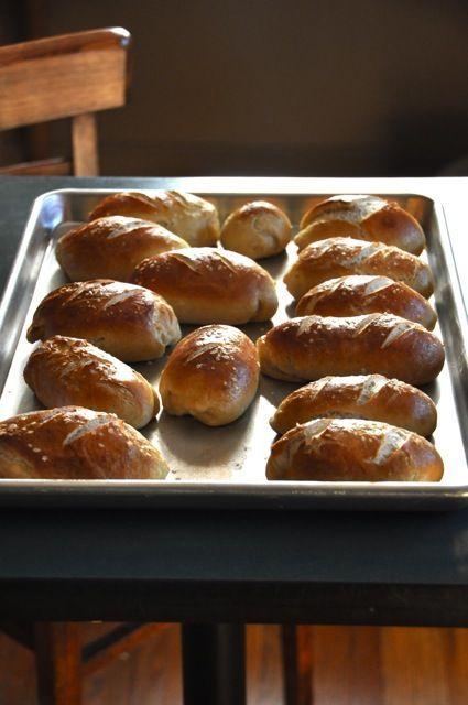 Pretzel Rolls.   yummy :)   Pinterest