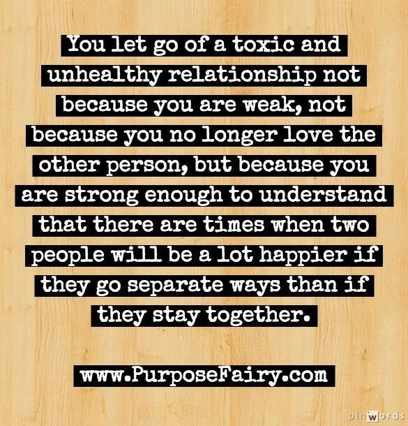 inoxable letting go of a relationship