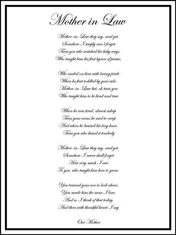 Printable Wedding Gift Poem : wedding gifts