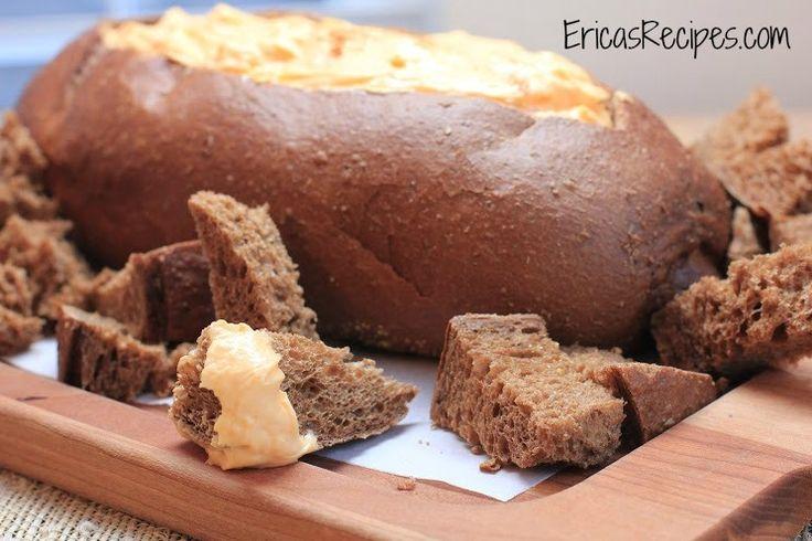 Cheddar & Beer, Pumpernickel Bread Dip | Appetizer | Pinterest