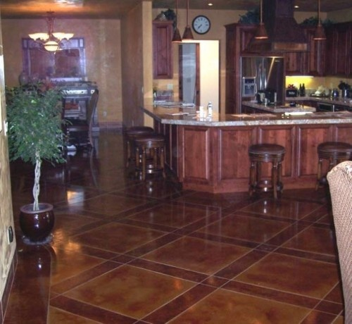 stained concrete floors decor and more pinterest