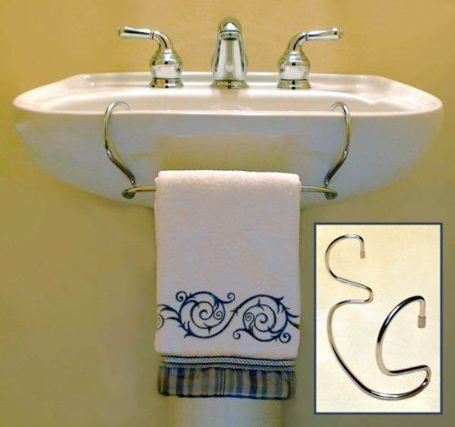 by Wallace Clay. $29.50. TowelTender - Chrome Pedestal sinks ...
