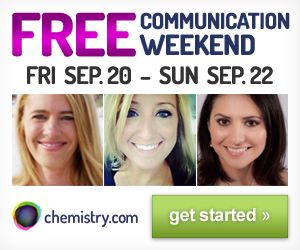 chemistry free communication weekend