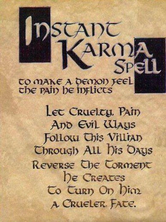 Wiccan quotes on karma quotesgram - All about karma ...