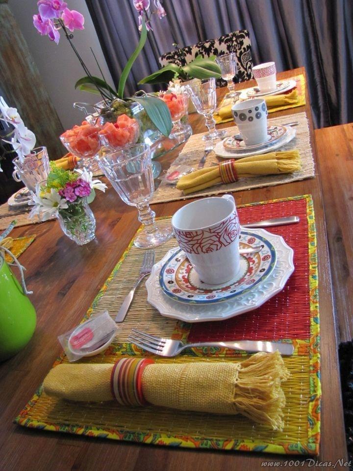 Mesa Cafe Da Manha#Breakfast Table Set up (13)