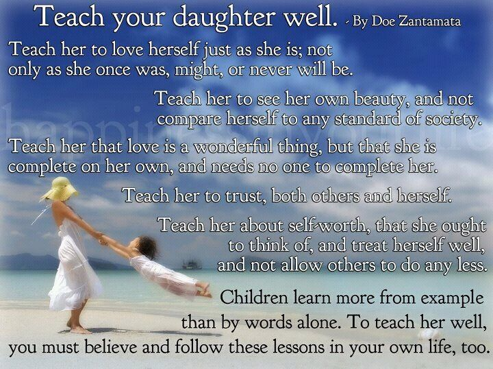 Raise STRONG women!!! | Future | Pinterest Quotes About Daughters Love