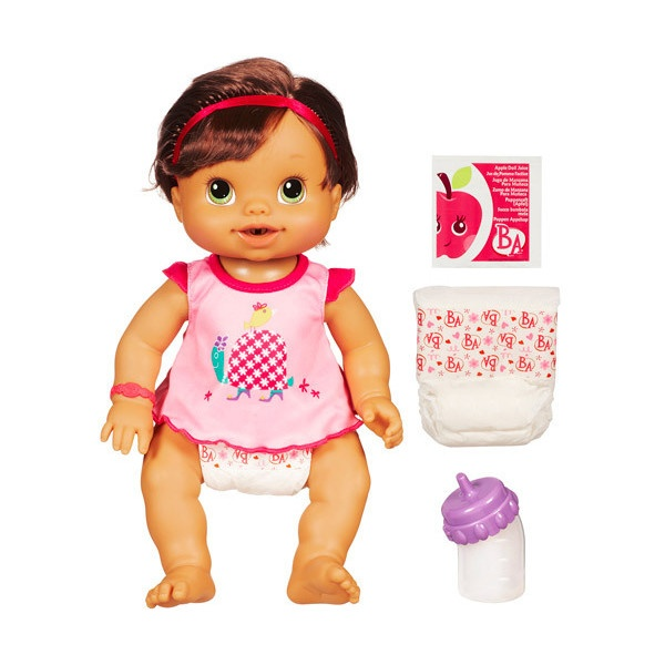 Baby alive wets n wiggles doll brunette 15 liked on polyvore