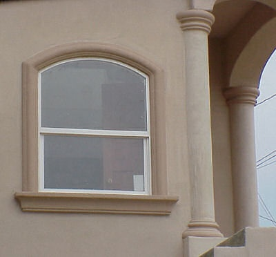 Stucco window molding home and design pinterest for Window design molding