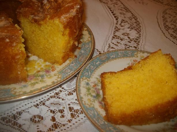 Lemon Supreme Cake Recipe With Apricot Nectar