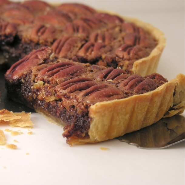Chocolate Pecan Tart | Food | Pinterest