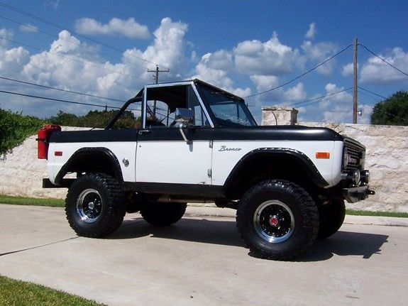 1975 Ford Bronco | My Style | Pinterest