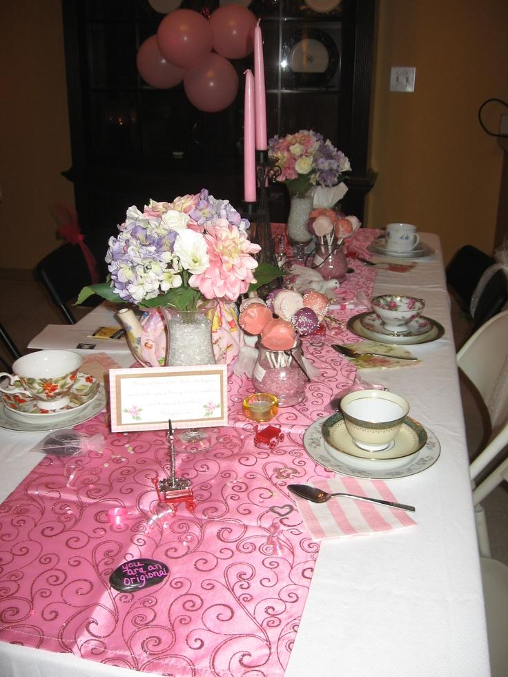 Ladies Ministry Tea Party