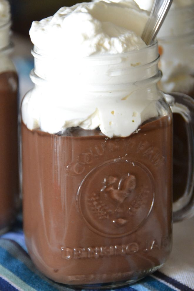 Triple Chocolate Mocha Pudding REAL chocolate pudding. -rhc