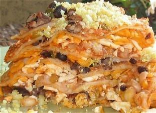 ... tortilla seven layer tortilla pie seven layer tortilla pie savory pie