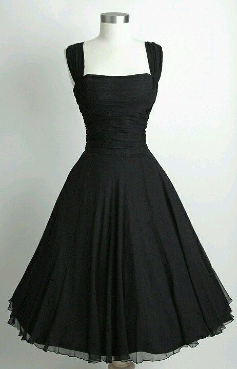 classic little black dress - photo #22
