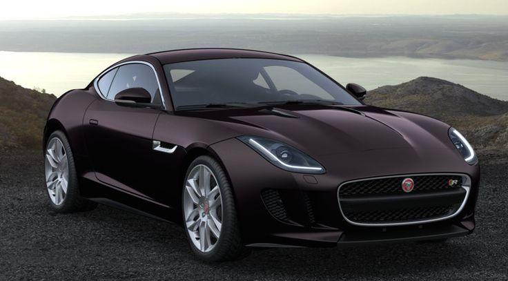 Jaguar F type coupe in black amethystJaguar F Type Black Coupe