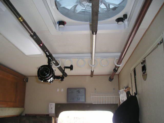 Creative Fishing Poles More Camper Frame Camper Ideas Camper Fun Camper