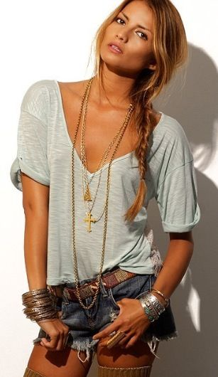 Mooie boho ibiza style trends miss mags Bohemian fashion style pinterest
