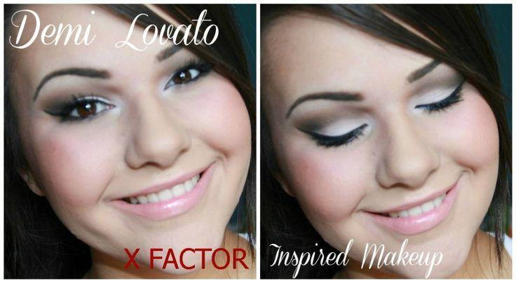 TUTORIAL: Demi Lovato X FACTOR Inspired Makeup #MakeupTutorial