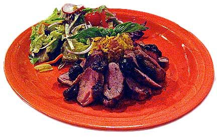 Spice-Rubbed Duck Breast Recipe — Dishmaps
