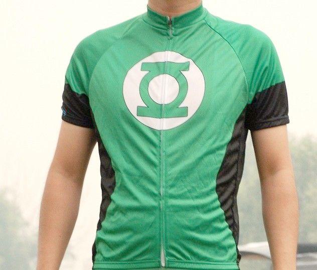 Green Lantern Cycling Jersey