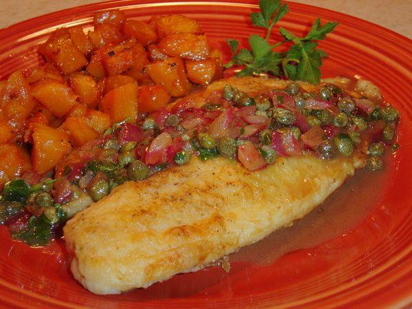 Tilapia Piccata | Favorite Recipes | Pinterest