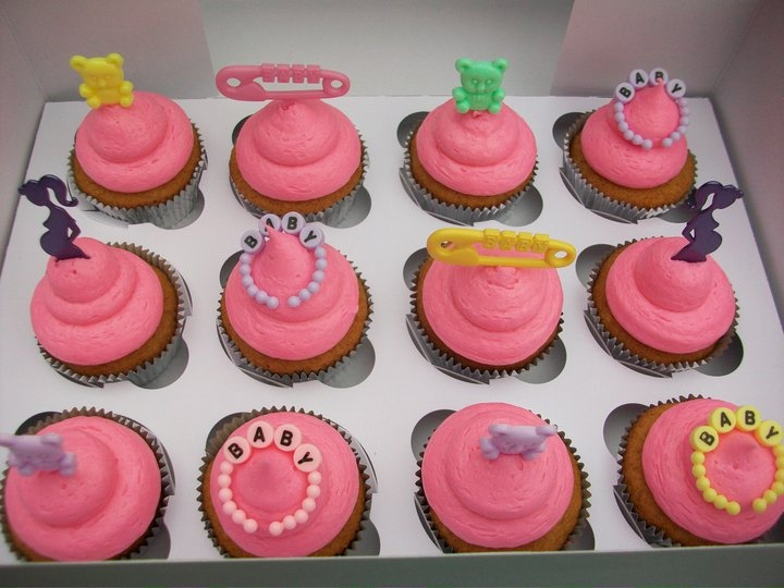 Baby Shower Cupcakes My Cupcakes Pinterest