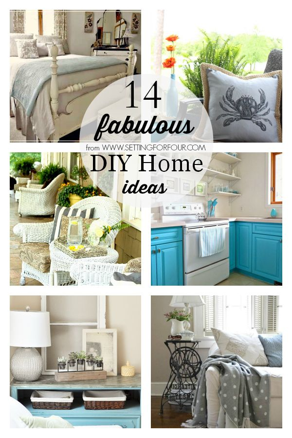 14 Fabulous DIY Home Ideas. Featured! I'm #10