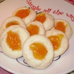 Apricot Cream Cheese Thumbprints Allrecipes.com reviews 192