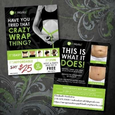 Have you tried that crazy wrap thing it works pinterest