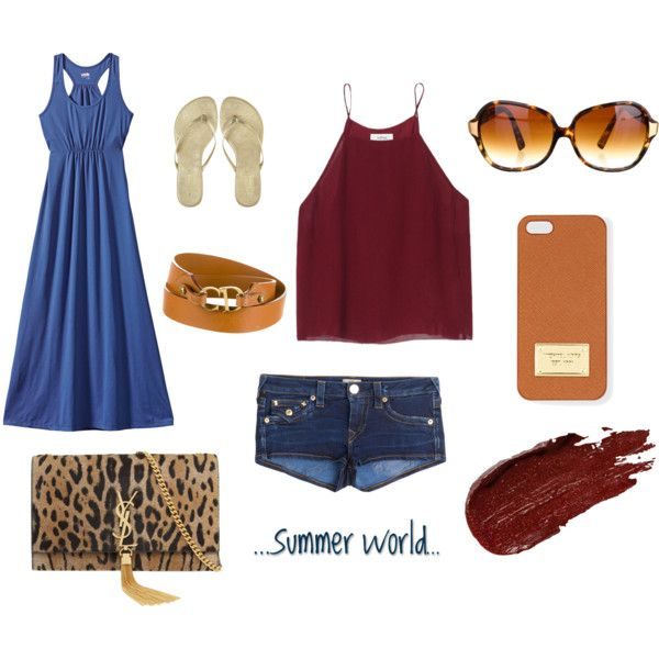 """summer vibe"" by lenahcaruana on Polyvore"