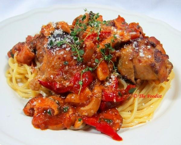 Chicken Cacciatore | Chicken | Pinterest