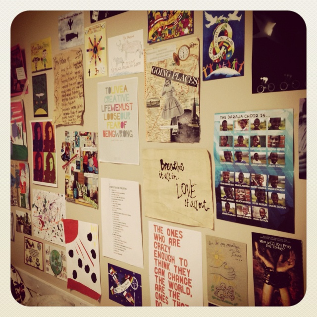 Wall Decoration For College : Dorm wall decor college diy supply