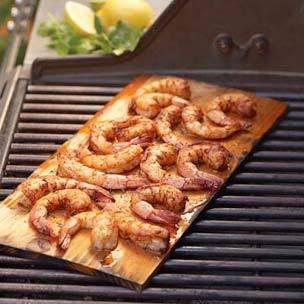 Cedar Plank Shrimp
